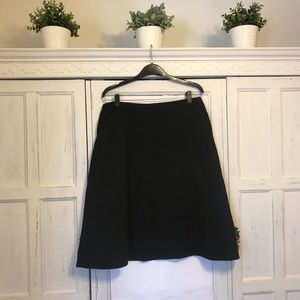 Eileen Fisher black skirt with pockets size S/P